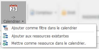 Afficher d'autres ressources dans votre calendrier
