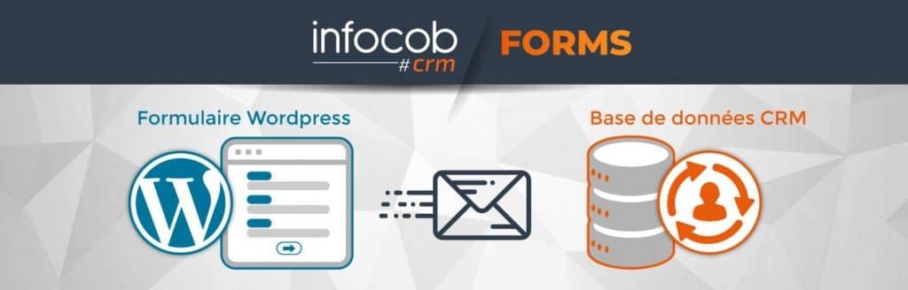 formulaire WordPress crm